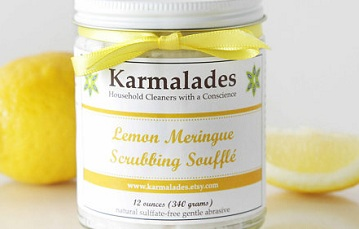 Karmalades Scrubbing Souffle natural cleaning product1