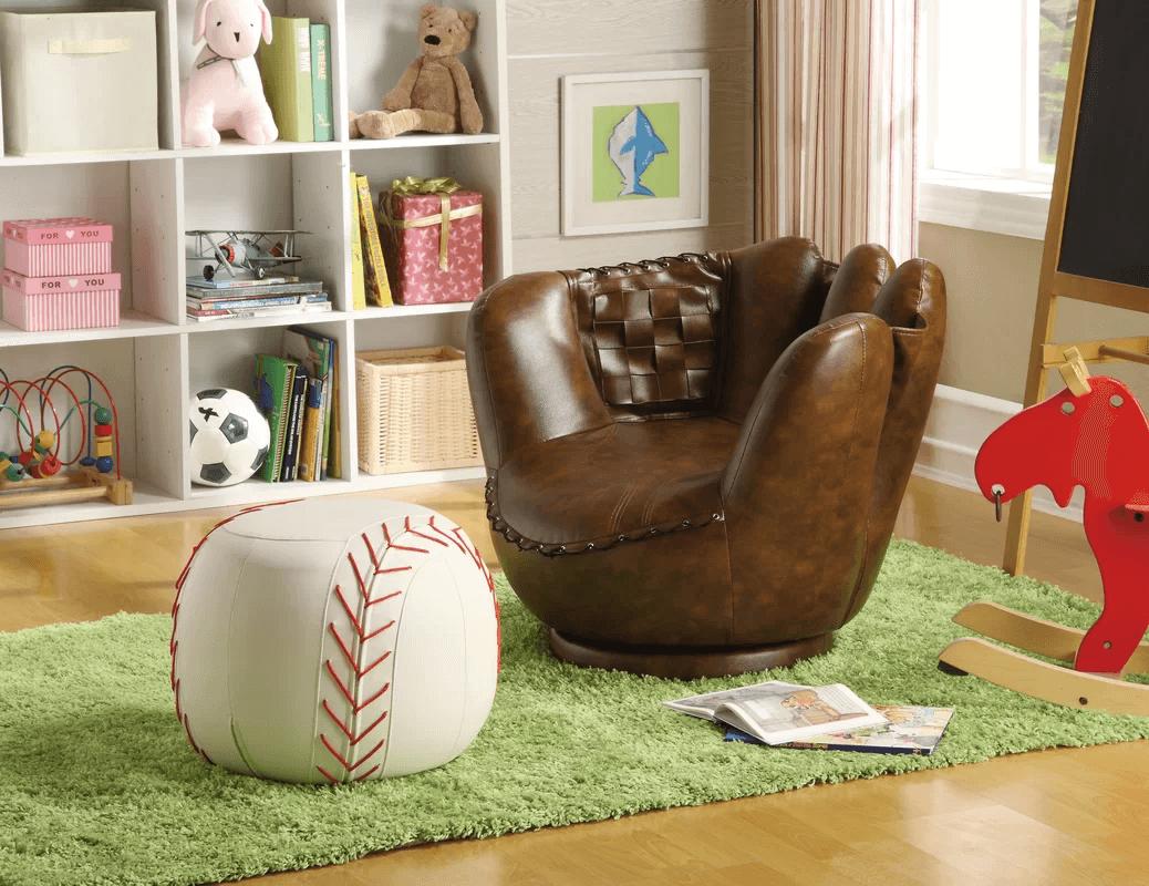 baseball glove seat wayfair