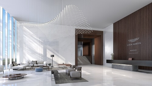 Aston Martin Miami West Lobby