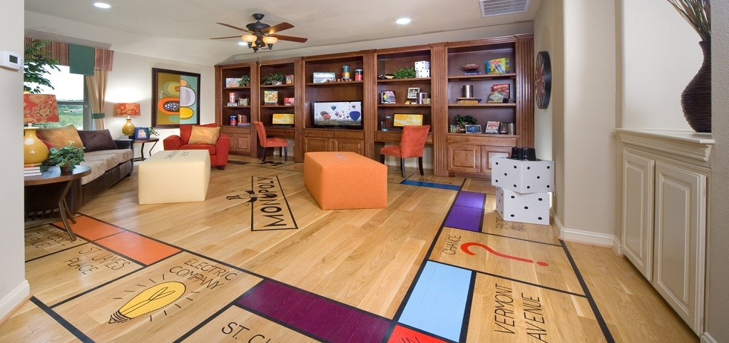 Greatest hits fun and inspiring media and game rooms - Game room in house ...