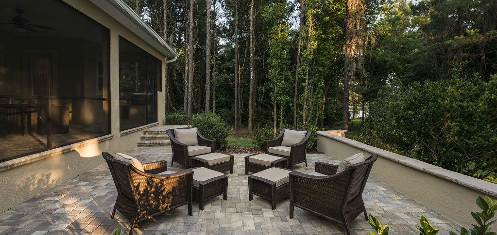 Backyard Living Source : Home of the Week Carrington Plan by GreenPointe Homes