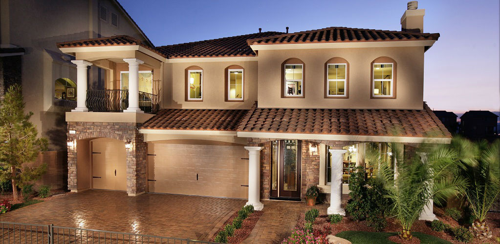 Home of the week lauren plan by american west for New home sources