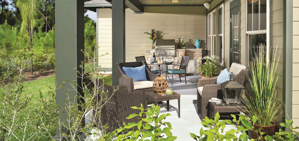 Backyard Porch Panama City Beach : close details outfitted outdoors much more than a backyard the