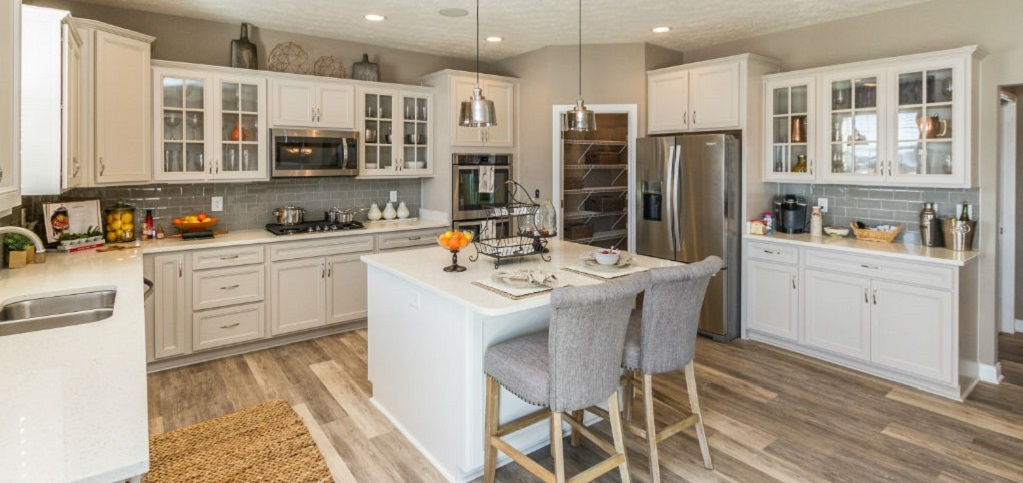 Home of the week westport homes for Kitchen cabinets zionsville