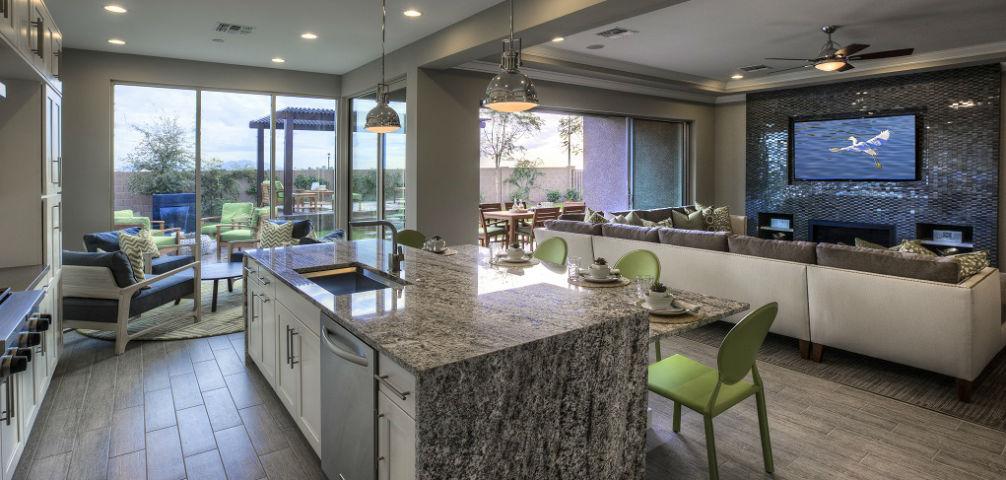 Legacy Estates at Morrison Ranch, Mesa, Ariz. Sahara_GreatRoom2. close  details. Ashton Woods Homes - Home Of The Week Sahara Plan By Ashton Woods Homes