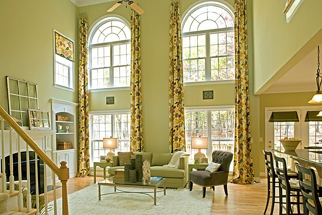 Interior design style guide for Colonial style interior decorating
