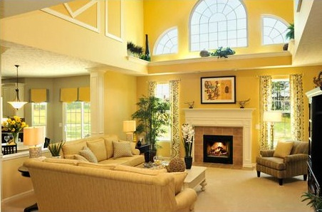 Drees Homes Langdon Plan Great Room