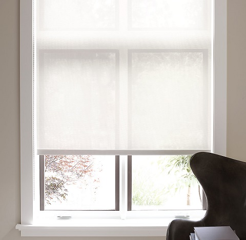 Let there be light and privacy with these window treatment for Restoration hardware window shades