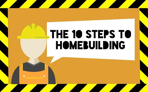 A step by step guide to the home building process for Steps on building a house