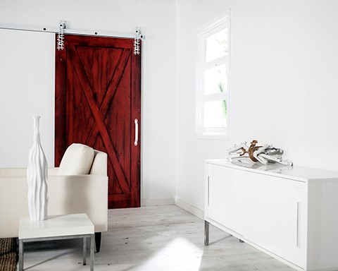 barn doors a hot design trend for any new home - New Home Design Ideas