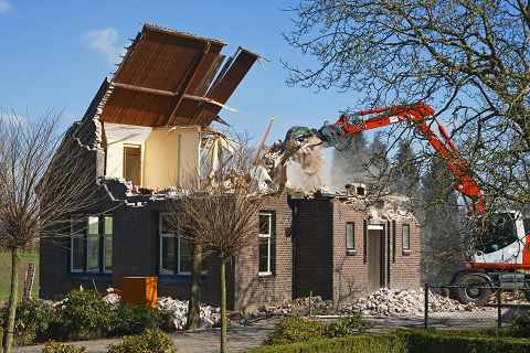 Cost Of Demolishing A House