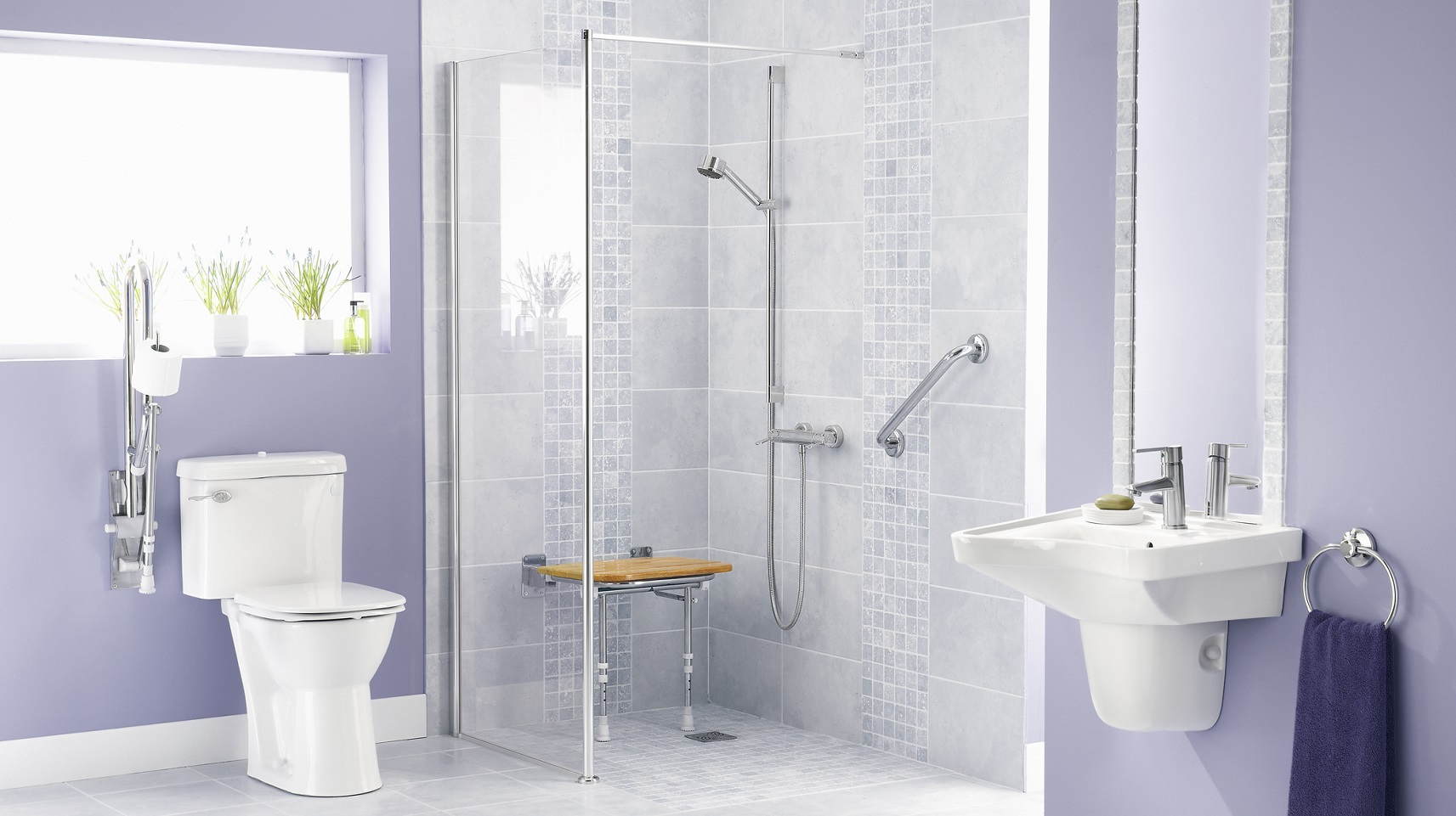 Aging in Place Ideas for Your Bathroom  HomLuv
