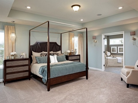 CalAtlantic Kensington Stillwater MN master bedroom