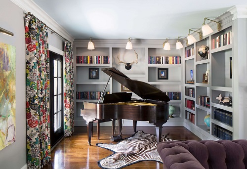 Tyler Hill piano nook