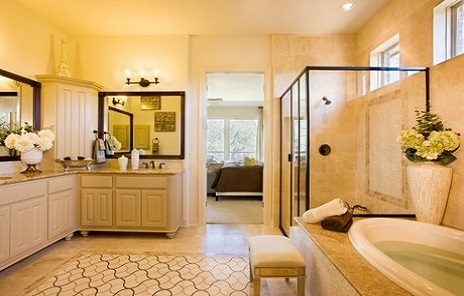 Six calming and luxurious bathrooms retreats for Bathroom design center near me