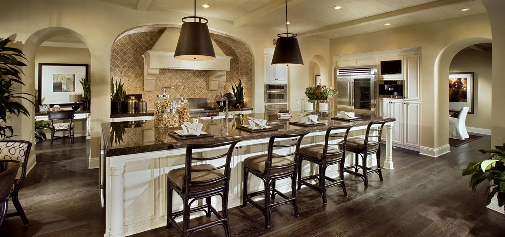 Model Home Kitchen after you've met with a builder's onsite sales staff, you'll want